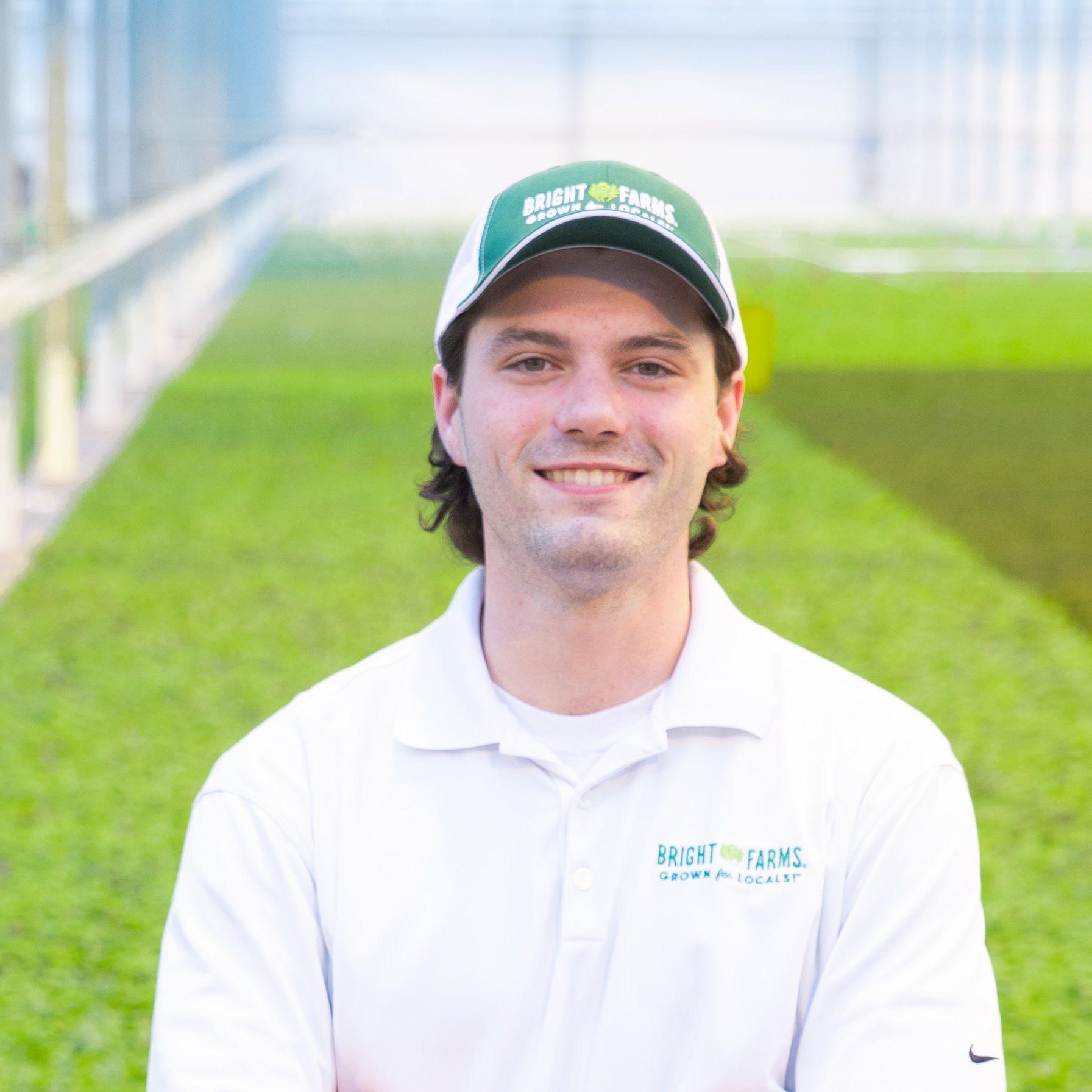 Chris Hennessey Head Grower BrightFarms PEN PENN Greenhouse