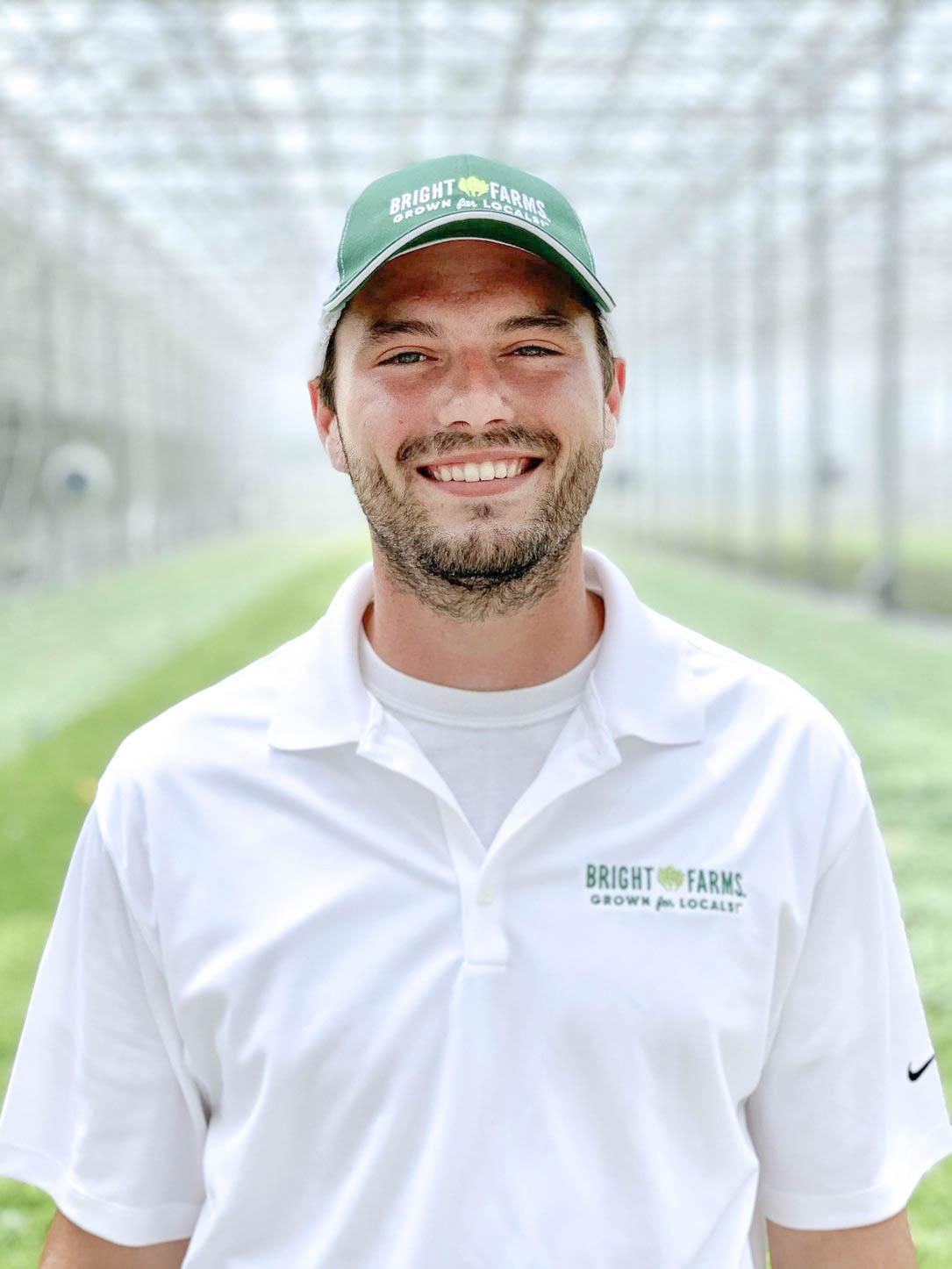 Chris Hennessy   Head Grower   BrightFarms PEN Greenhouse