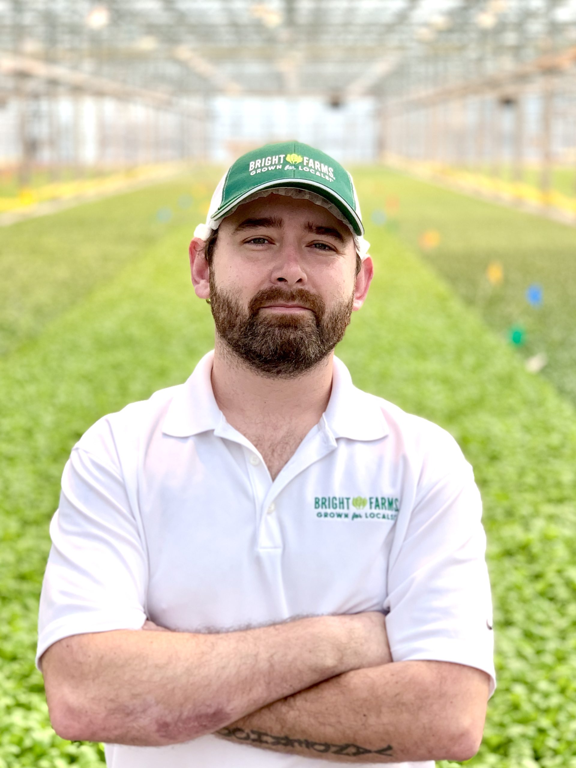 Kyle Vanderhoof Head Grower BrightFarms WDC Greenhouse