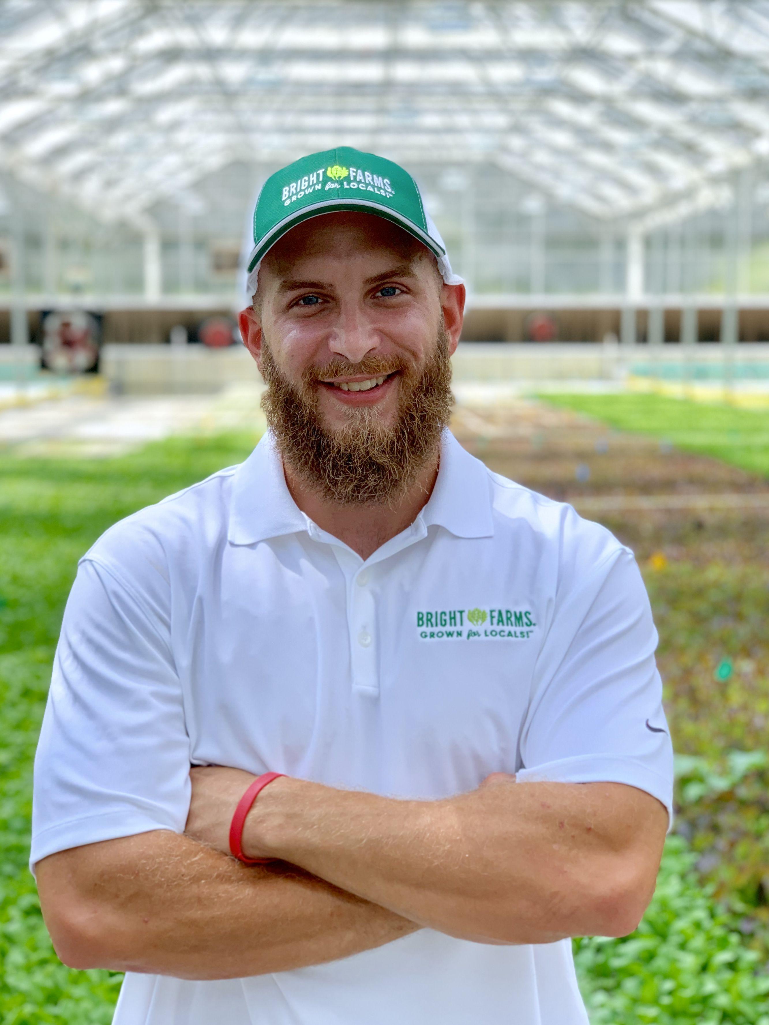 John Ballard Production Manager BrightFarms LMT Greenhouse