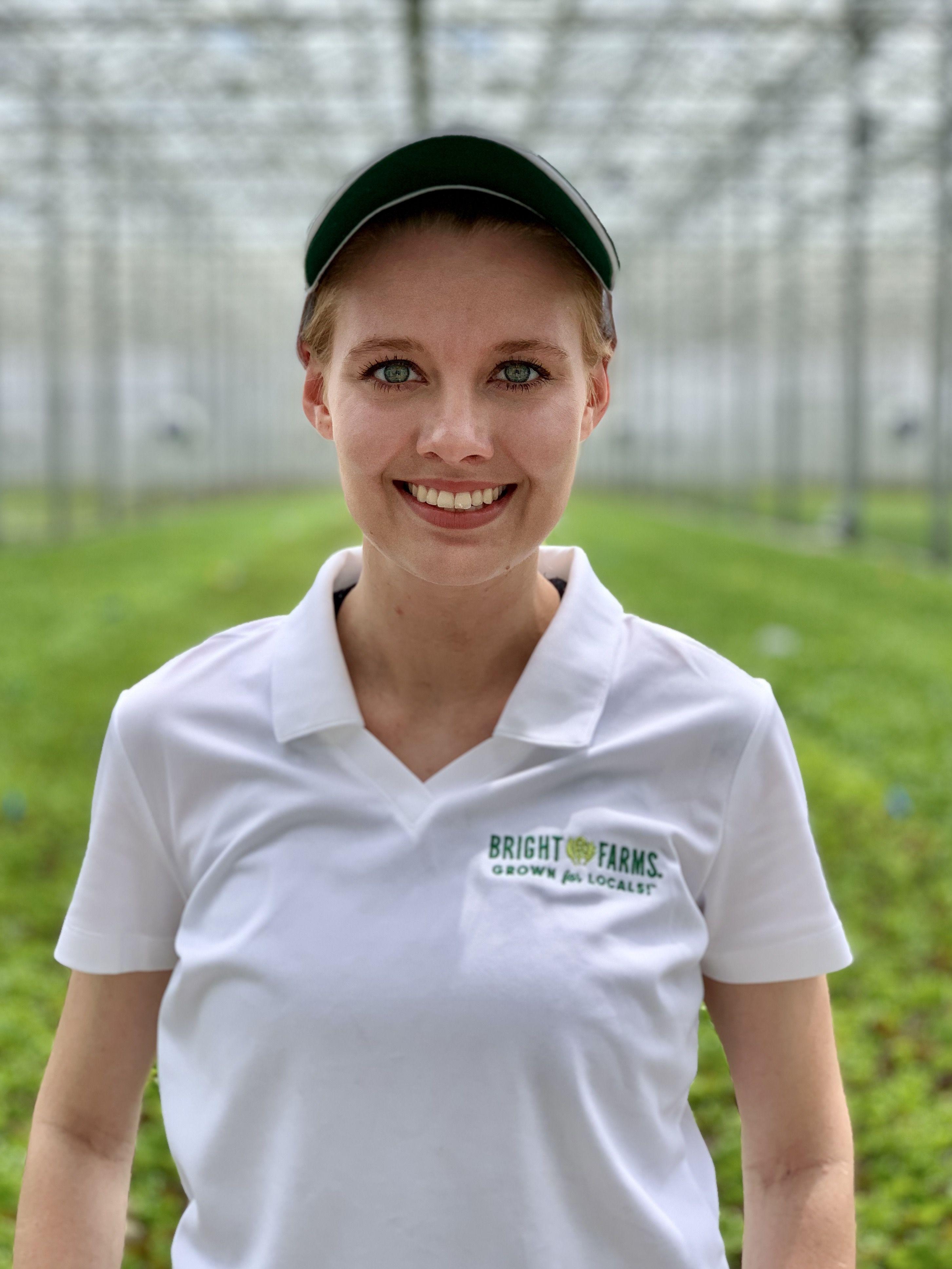 Kendra Elliott Operational Lead BrightFarms CHI Greenhouse