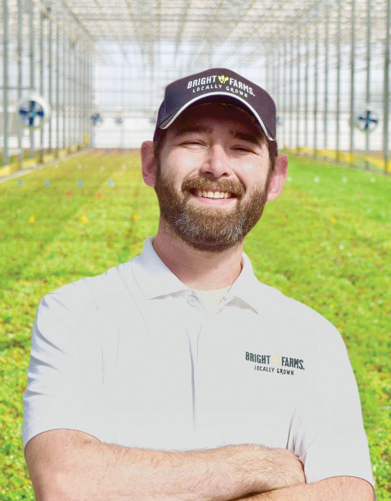 Kyle Vanderhoof Head Grower BrightFarms WDC Greenhouse