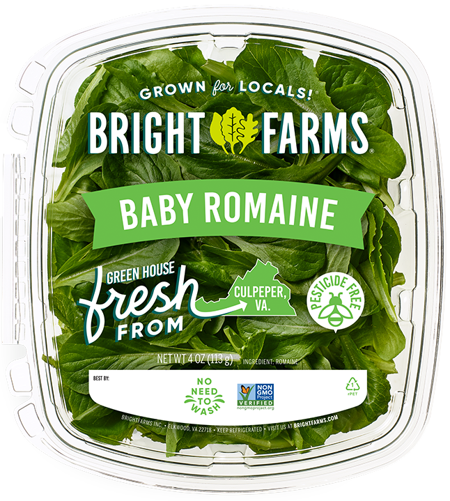 BrightFarms Baby Romaine | Local Baby Greens