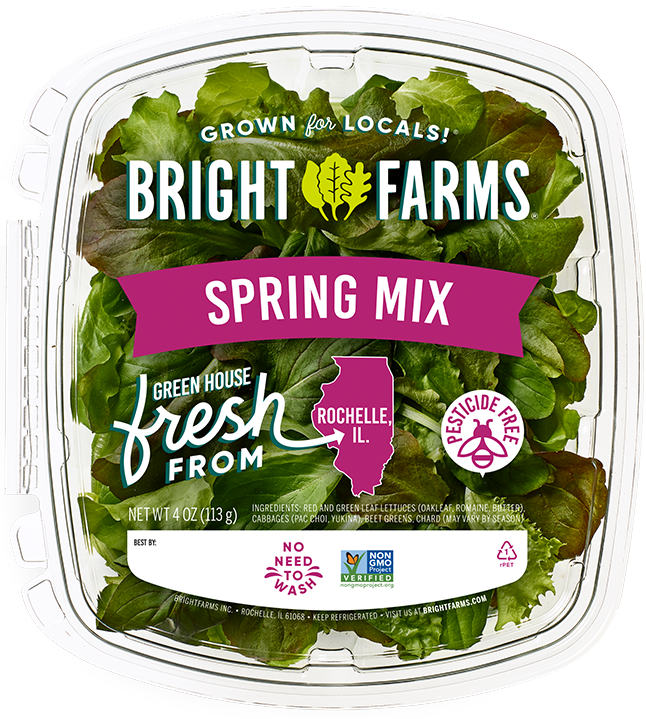 BrightFarms Spring Mix | Local Baby Greens