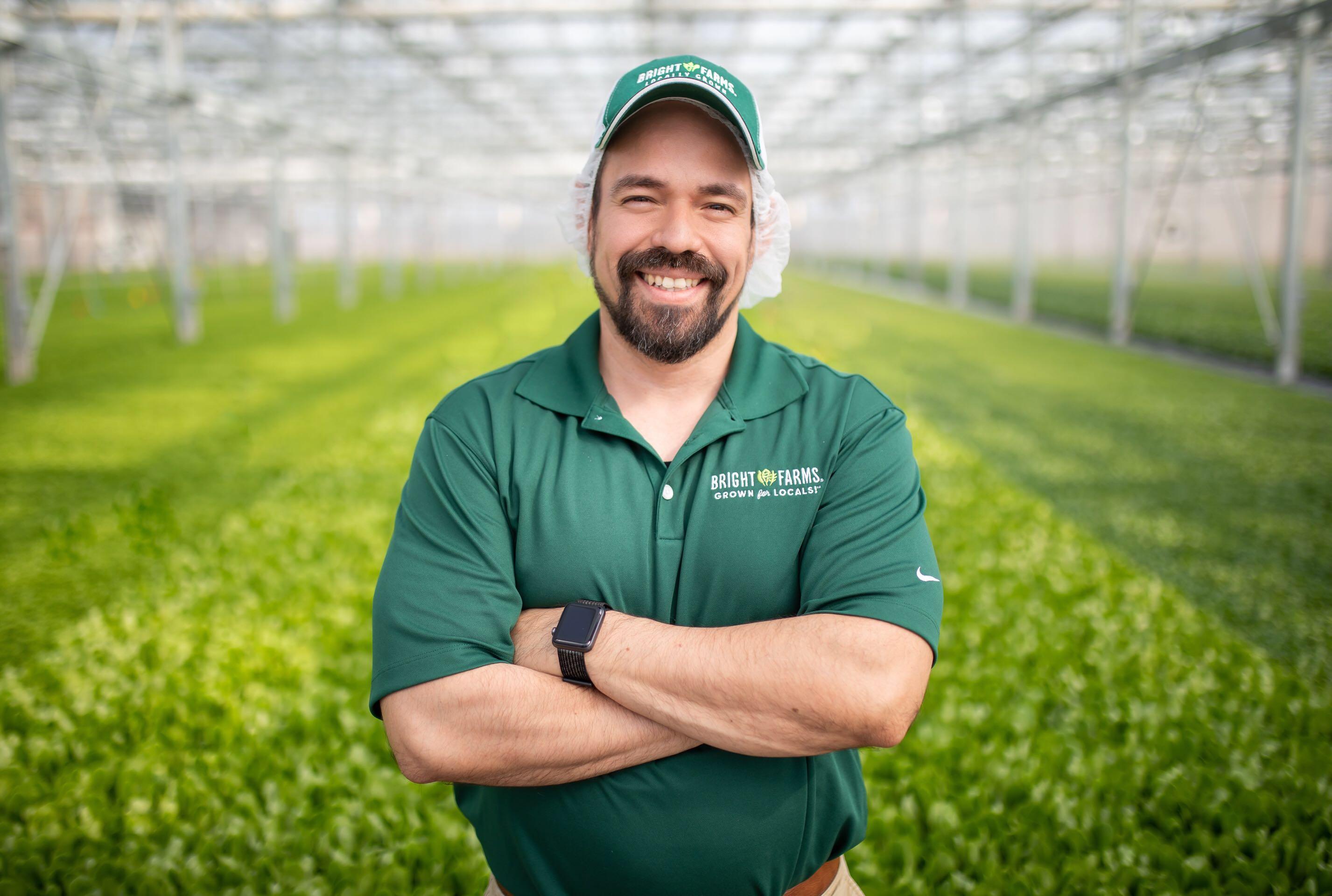 Roger Setzer Production Manager BrightFarms WDC Greenhouse