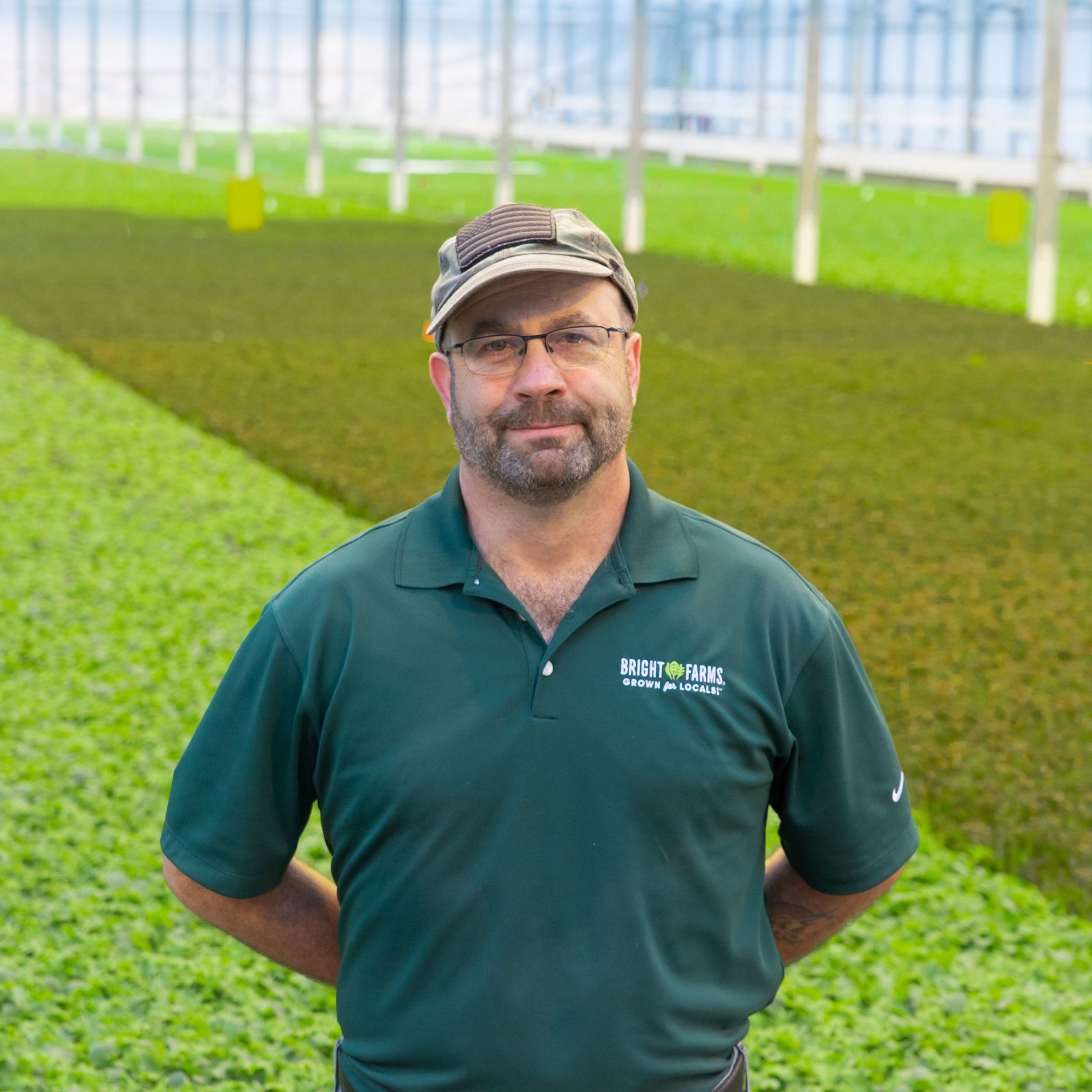 Tony Paar General Manager BrightFarms PENN PEN Greenhouse