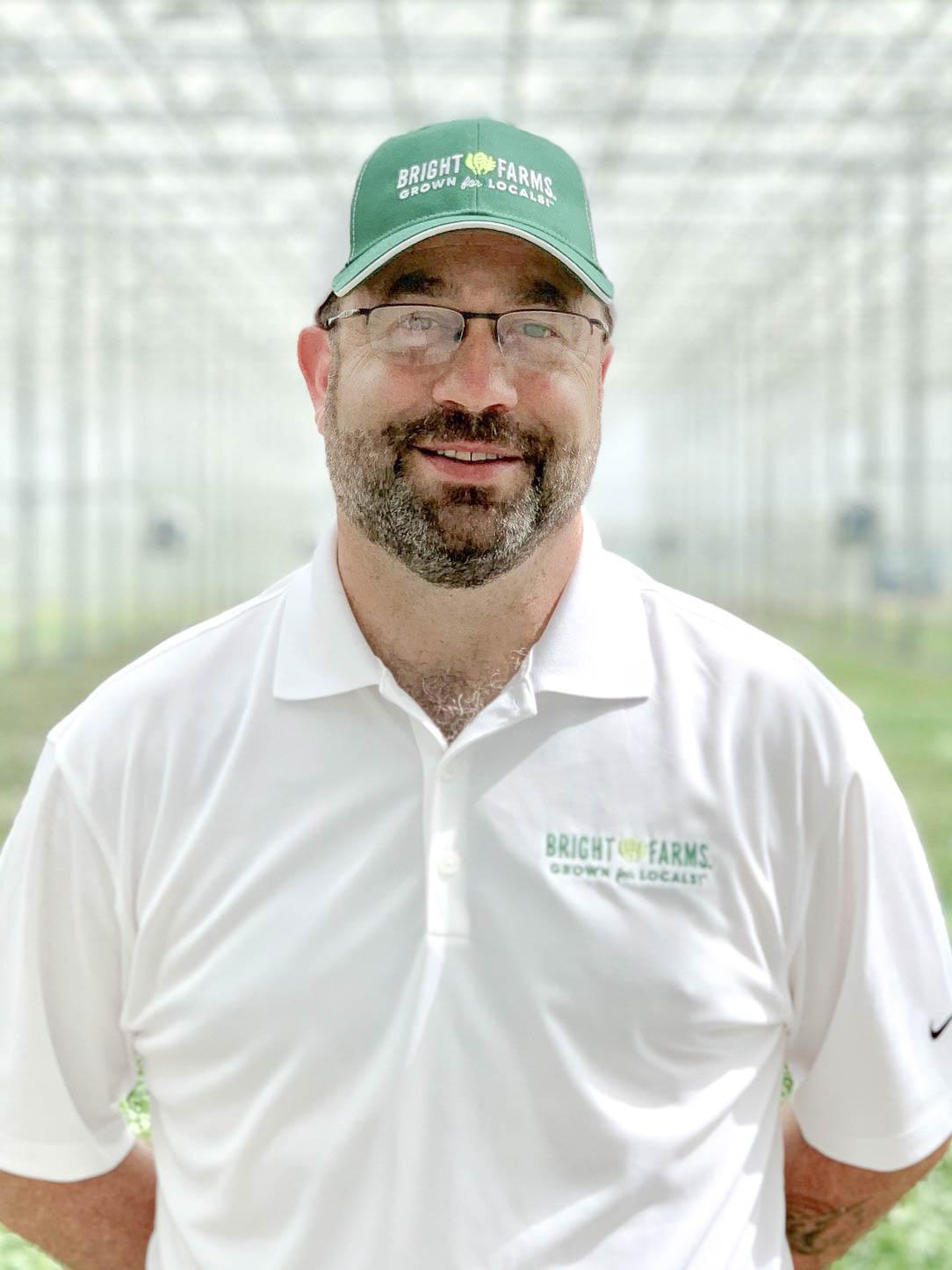 Tony Paar General Manager BrightFarms PEN Greenhouse