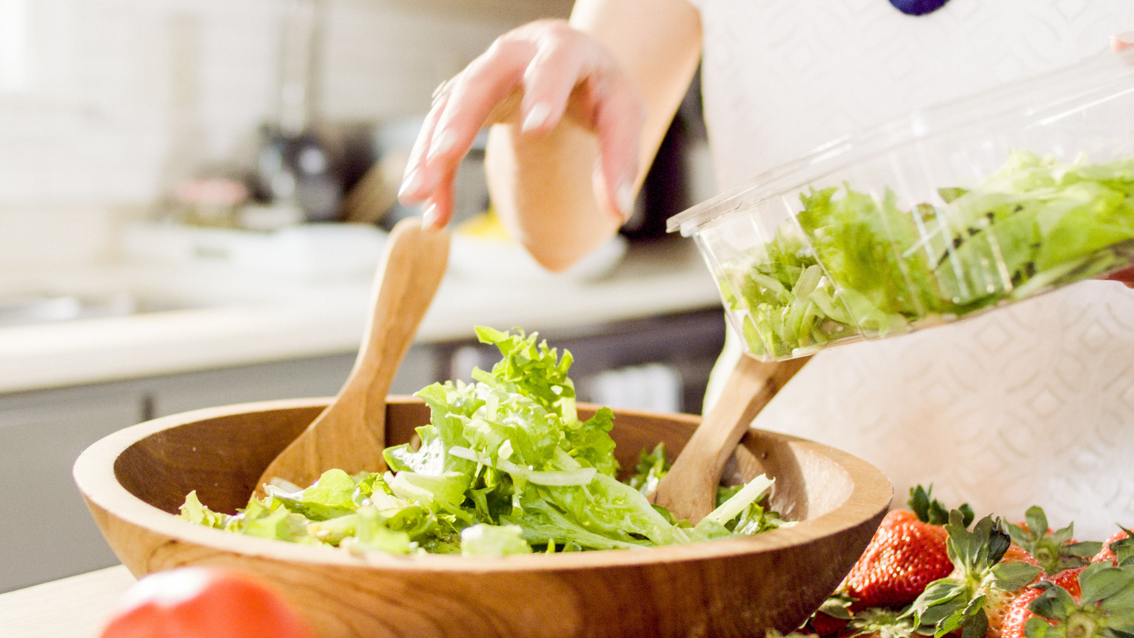 BrightFarms Salad in Bowl | No Need to Wash