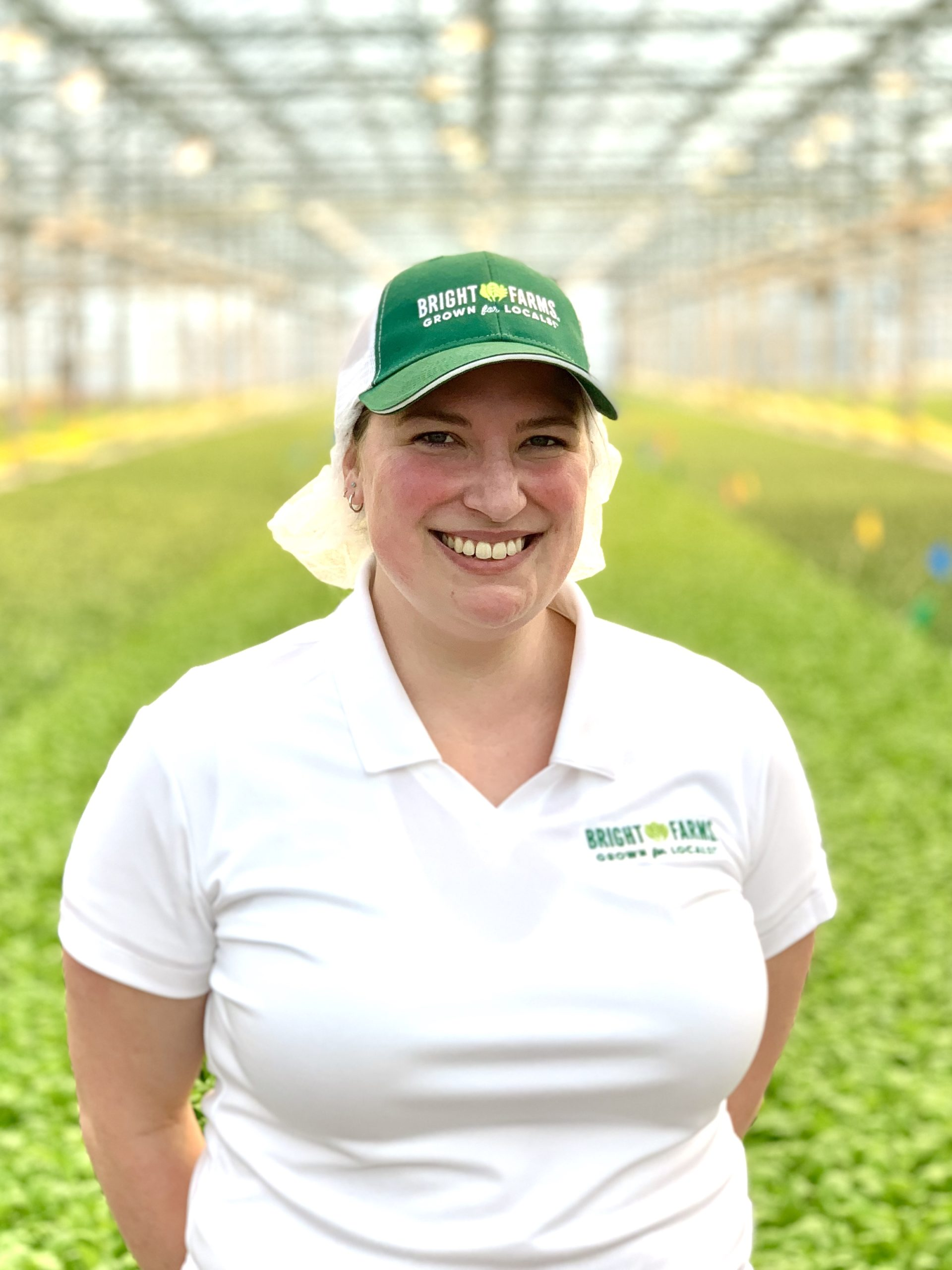 Aimee Swett Apprentice Grower BrightFarms WDC Greenhouse